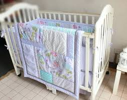 crib bedding quilt pattern giol me num love dream silver erfly pattern embroidery baby 4pcs crib