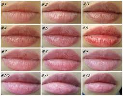 tinted lip balms swatches reviews