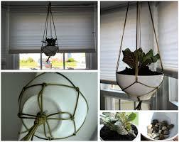 simply diy hanging plant basket