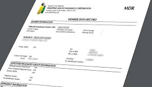 How To Get Philhealth Member Data Record Mdr Online