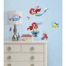 little mermaid wall decals the little mermaid wall decals