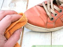 fix scuffed leather shoes how to