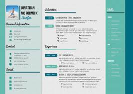 Best Creative Resumes 55 Cool Samples Of Creative Resume Design 55