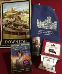 grand prize gifts downton poster downton tote bag dvd of season 6 downton tea downton motorcar ornament teacup pictured below english rose soap and