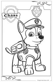20 Paw Patrol Chase Da Colorare Disegni Da Colorare