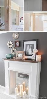 faux fireplace 58