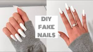 Design Your Own Fake Nails How To Do Fake Nails At Home For Beginners Acrylic Nails Under 30