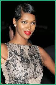 Coiffure Femme Noire Coupe Courte 39613 Cheveux Noir Court