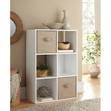 better homes and gardens 8 cube organizer multiple colors new mainstays 6 cube storage organizer multiple