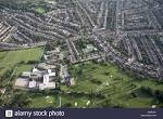 Aerial view south east of Muswell Hill Golf Course Alexandra Park ...