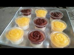 Intip resep pudding cake unik di sini, yuk. Puding Karakter Gelas Plastik Usaha Dengan Pemasukan Menguntungkan