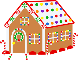 gingerbread house clipart background. Brilliant Clipart Picture Black And White Download Christmas Free Clip Art Throughout Gingerbread House Clipart Background U