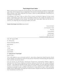 Psychology Internship Cover Letter Samples Sample Cover Letter For Psychology Internship Creative Psychology