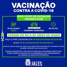Semana de vacinação contra a Covid-19 será intensa em Jales – Jales