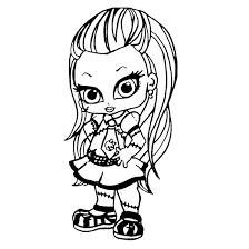 Small Picture Printable Monster High Coloring Pages Coloring Me