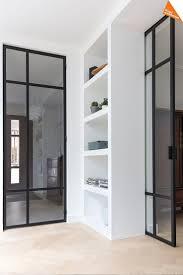 Steel doors.