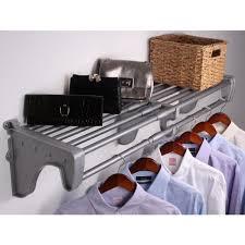 ez shelf expandable diy closet shelf