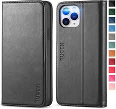 Amazon.com: TUCCH Wallet Case for iPhone 12 Pro Max 5G, PU Leather Flip  Folio Wallet Case with Card Slot, Kickstand, Book Design [Shockproof TPU  Interior Case] Compatible with iPhone 12 Pro Max