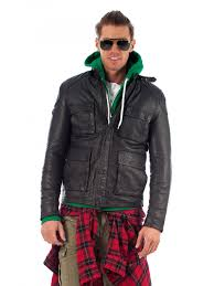 superdry rotor leather jacket black tap to expand