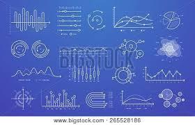 Linear Graph Chart Vector Photo Free Trial Bigstock