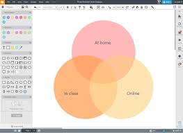 Online Venn Diagram Maker Free Online Diagram Software Visual Solution Lucidchart