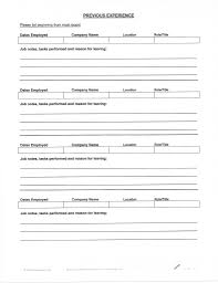 Resume Template Fill In Amazing Filling Out Resume Yelommyphonecompanyco