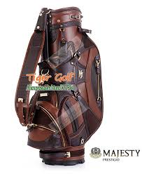 new maruman majesty golf bags genuine leather golf staff bag with 2 colors 9 5 inches clubs bag golf equipment free
