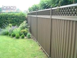 fencing ideas small gardens garden fence designs simple f decorating winning image of contemporary metal style