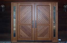 front double doorsWood Front Entry Doors With Glass  EVA Furniture