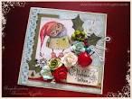 Сова и совенок открытка
