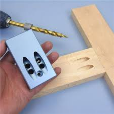 KKmoon Pocket <b>Aluminium Alloy</b> Porous Oblique Hole Jig Kit ...