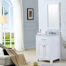white single bathroom vanity. 24\ White Single Bathroom Vanity H