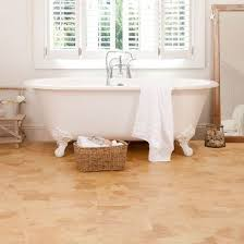 cork flooring in the bathroom. Amber Cork Flooring To Make The Bathroom Cozier In I