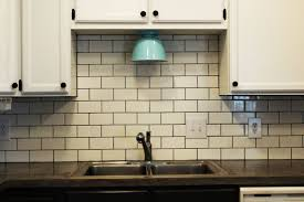 Tiled Kitchen How To Install A Subway Tile Kitchen Backsplash
