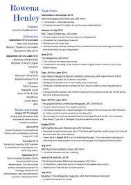 resume rowena henley a copy of my reacutesumeacute here rh resume