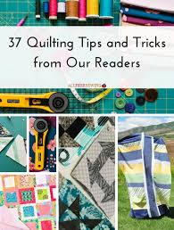 37 Quilting Tips and Tricks from Our Readers | Sewing projects ... & 37 Quilting Tips and Tricks from Our Readers | New to quilting? Don't Adamdwight.com