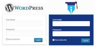How to change wordpress login logo – Customizing wordpress login page