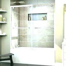 half glass shower door home depot bathroom tub half glass shower door for bathtub half glass