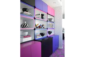 interior design miami office. plain design a home office in a miami condo uses pink black and purple for the throughout interior design office