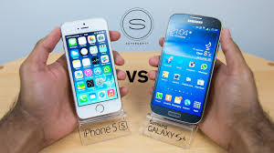 galaxy s4 screen size iphone 5s vs samsung galaxy s4 hands on youtube