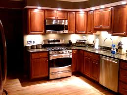 home lighting captivating kitchen recessed lighting ideas and led light under wood cabinet for l
