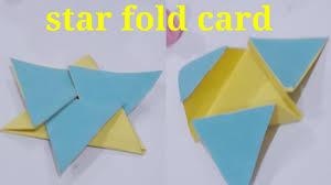 Star Fold Card Scrapbook Explosion Box Art Handwork