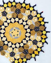 best EPP HANDQUILT images on Pinterest   English paper     Daisy Chain English Paper Piecing project   Red Pepper Quilts