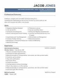 Medical Assistant Duties For Resume Elegant 36 Valuable Office