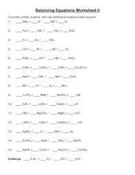chemical ations reactions balancing answers answer key about chemistry science notes ation worksheet simple equations middle