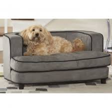 dog bed furniture. enchanted home pet cliff bed ultra plush 40 by 24 1475 dog furniture