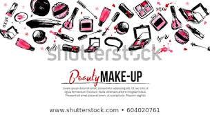 site banner template for makeup artist studio header business card brochure and