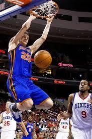 timofey mozgov dunk. Interesting Dunk Knicks Center Timofey Mozgov Dunks Against The 76ers On Oct 20 With Dunk R