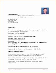 Best Resume Format Sample Best Resume format for Job Elegant Sample Resumes Example Resumes 26