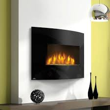 image of best modern wall mount electric fireplace